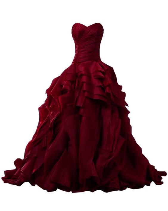 Prom Gown,Prom Dresses,Burgundy Evening Gowns,Party Dresses,Burgundy ...